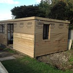 Timber Framer - Oak garden office