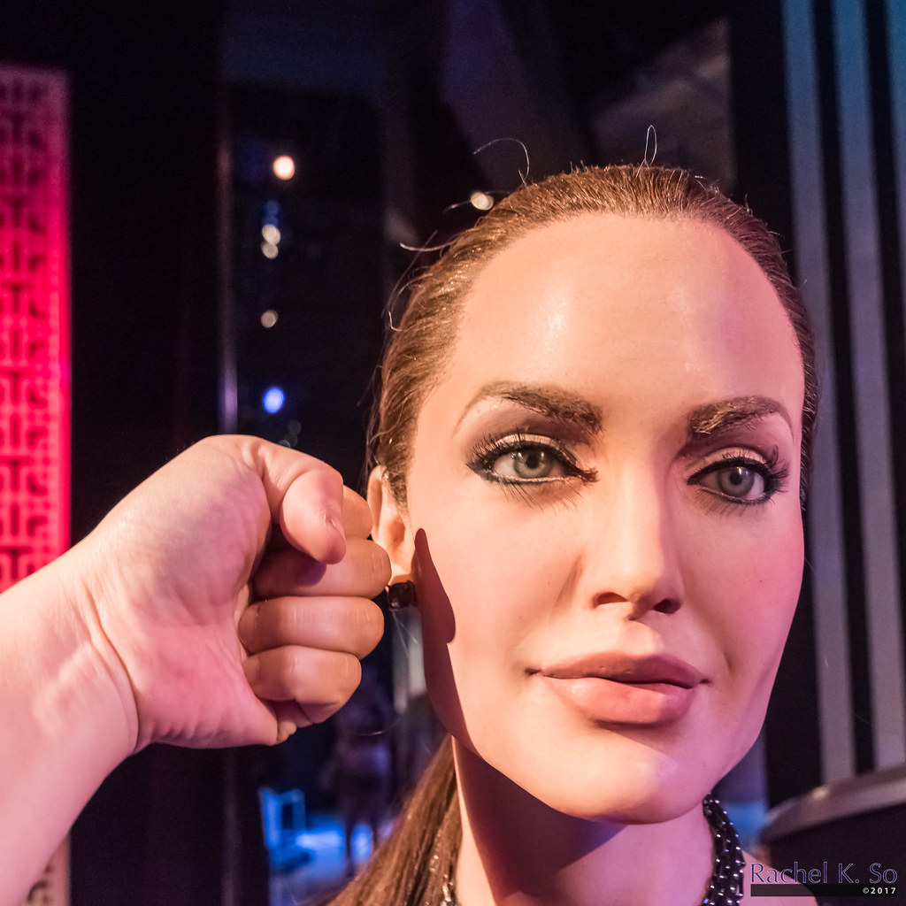 Angelina Jolie At Madame Tussauds Las Vegas As Much Of A Flickr