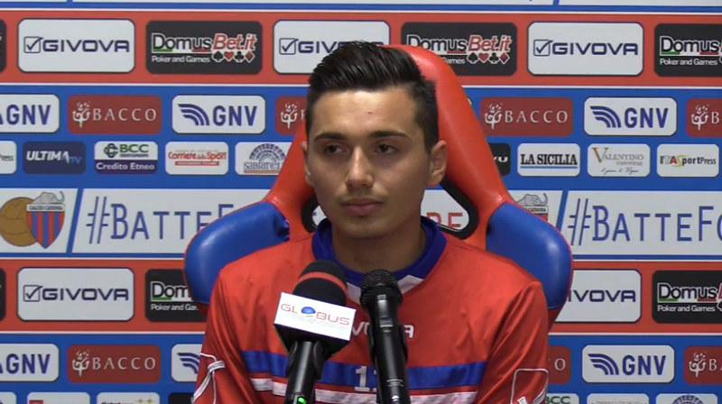 Andrea Di Grazia, oggi in sala stampa