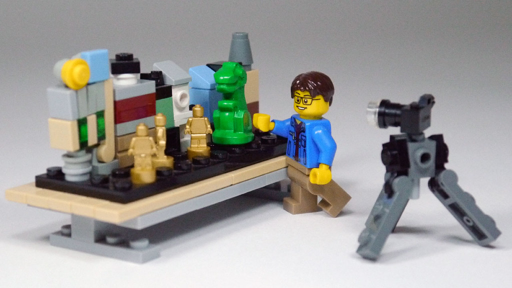 Lego Minifig Camera : Minifig brickfilming set i created this moc for the lego au flickr