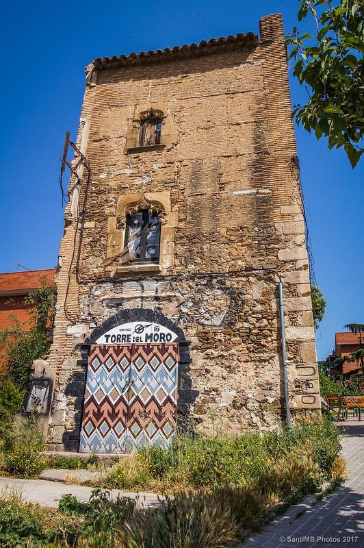 La Torre del Moro en el barrio de Horta