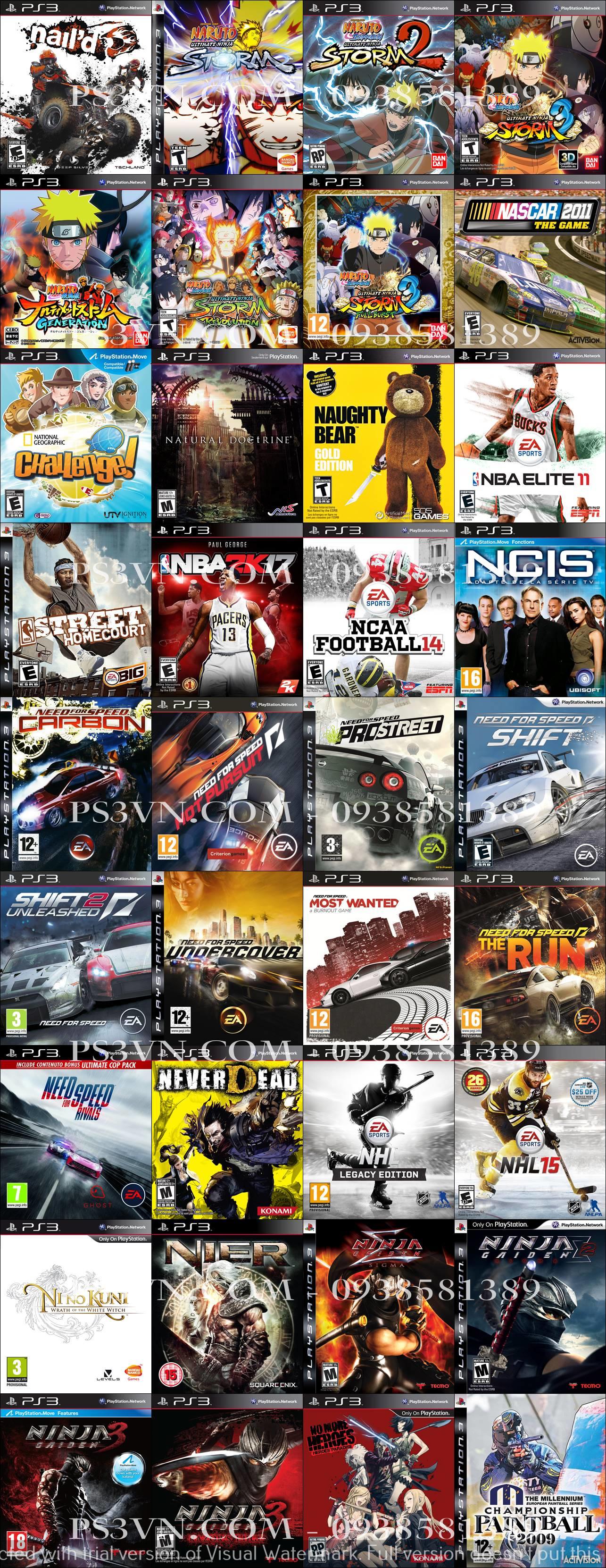 Chép Game PS3 tại nhà giá rẻ nhất TPHCM - PS3VN.COM - 29