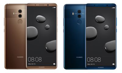 The Huawei Mate 10 Pro (128GB ROM + 6GB RAM) will also be available in two colours, Mocha Brown and Midnight Blue, in late-November.