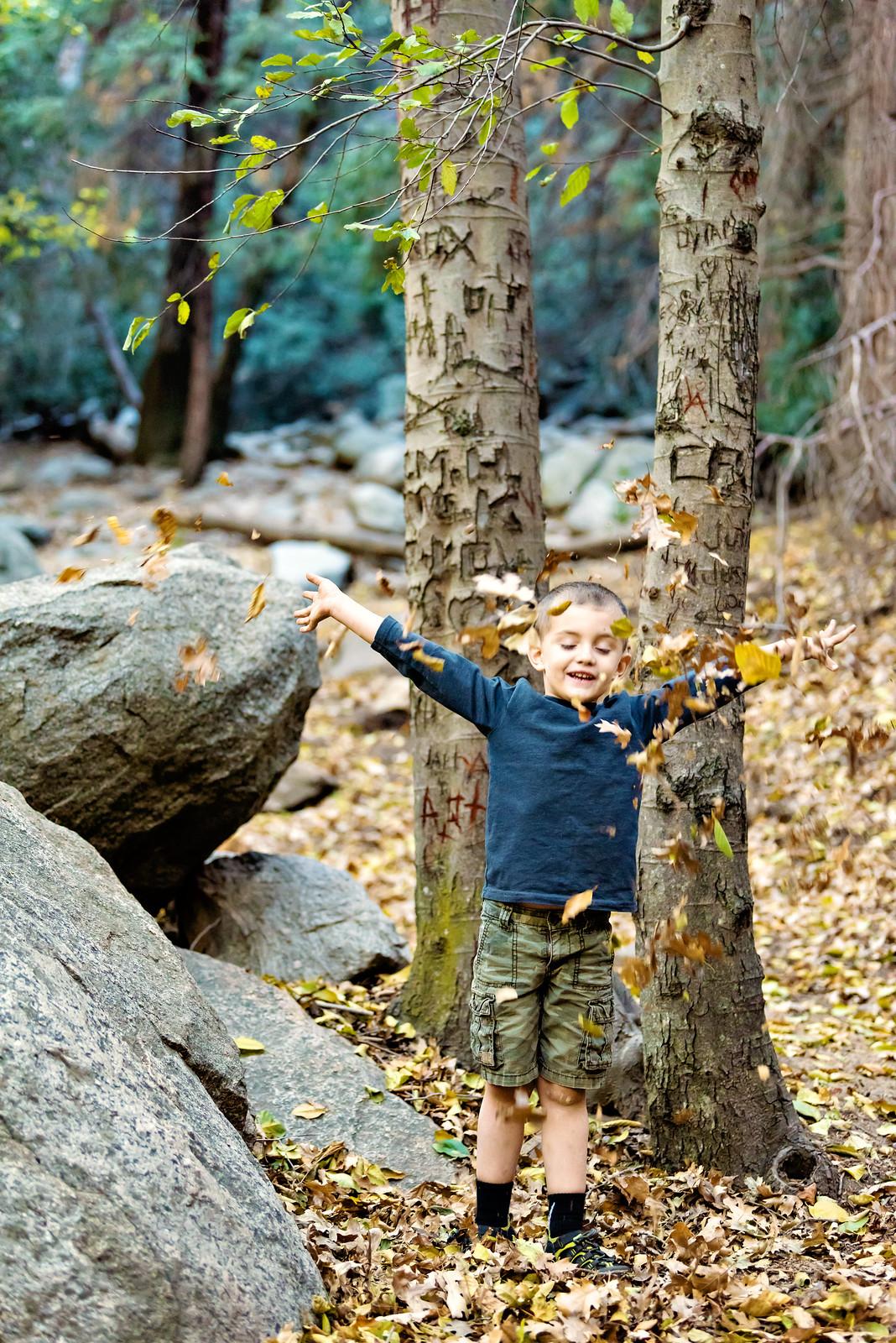 heart rock trail in fall