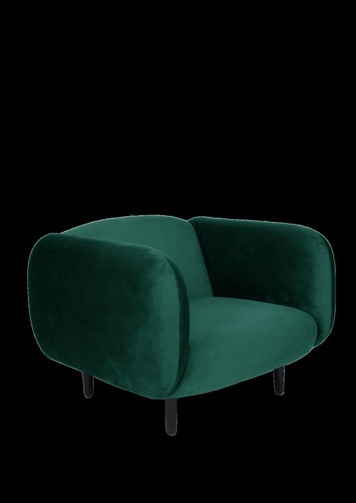 ... MOIRA Velvet Armchair Teal Blue 3.4 ENOstudio | By ENO_Studio