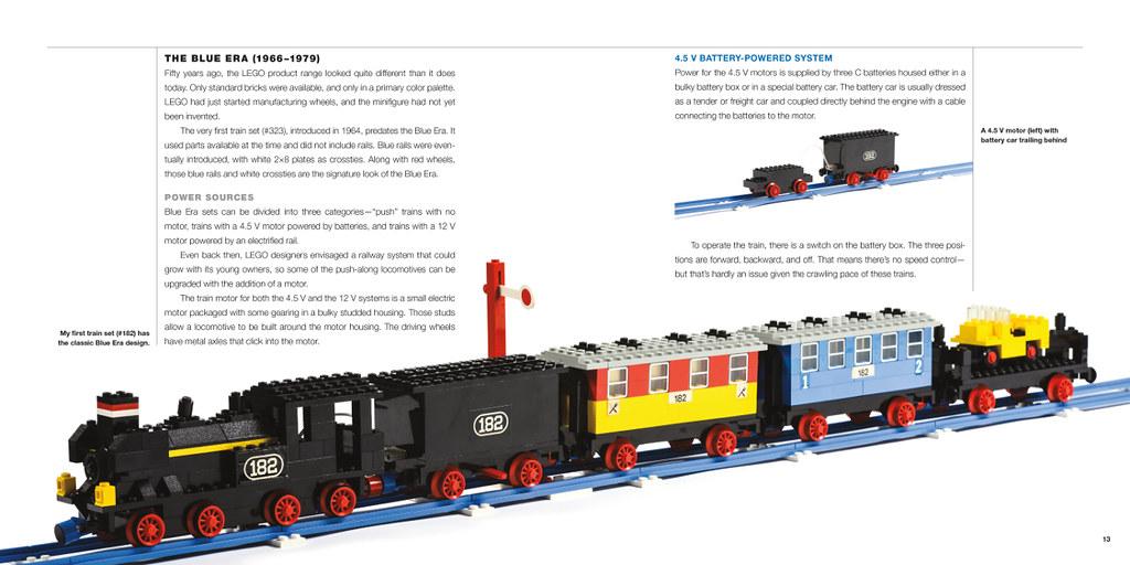 The Lego Trains Book Brickset Lego Set Guide And Database