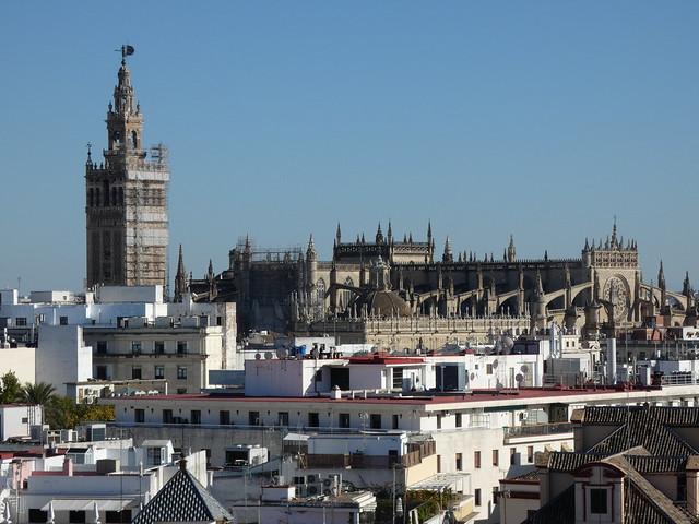 Sevilla desde la suite presidencial del Gran Meliá de Sevilla
