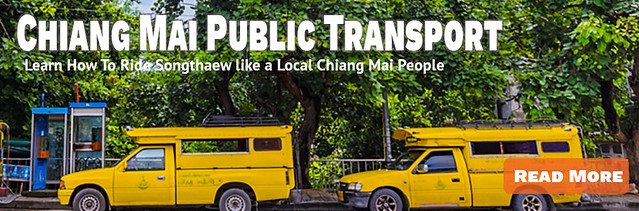 Link Public Transport in Chiang Mai - Songthaew