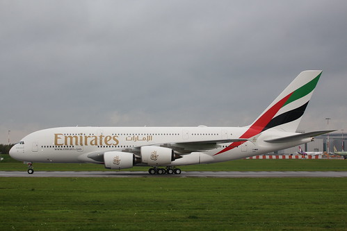 A380 Emirates A6-EUV | by XFW-Spotter