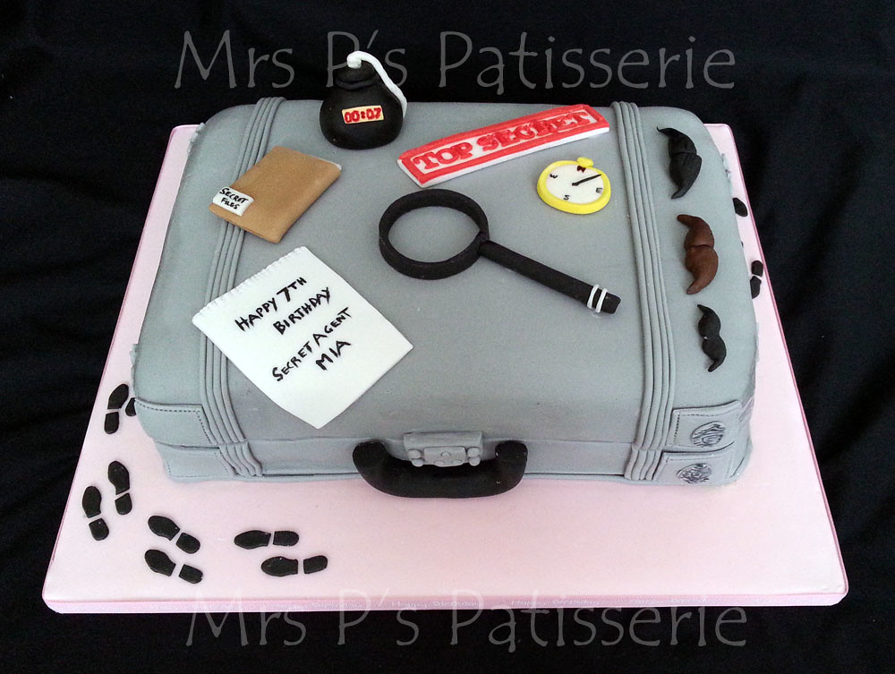 Secret Agent Spy Case Cake Secret Agent Spy Themed Bir Flickr