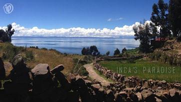 Paisajes del Lago Titicaca
