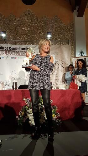 AionSur 37529287180_31d548ee72_d Julia Otero recibe el XVIII Premio de Comunicación Manuel Alonso Vicedo en Gerena Sociedad