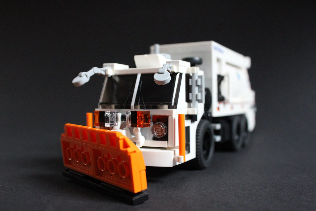 """New Model Cars 2019 >> Mack TerraPro """"DSNY""""   This is my Lego version of the Mack T…   Flickr"""