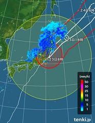 台風一過 2017.10.23