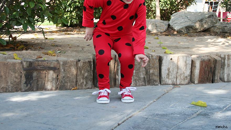disfraz Ladybug para niña