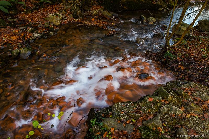 Salida de agua en Akarreta