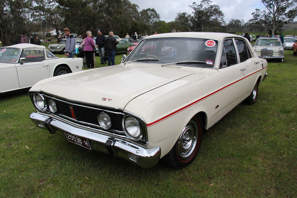 1968 Ford Xt Falcon Gt Sedan Polar White The Xt Falcon