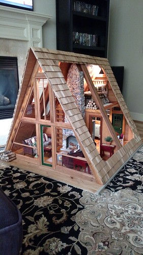1 6 Scale A Frame Cabin Project Yeah I Was Able To Fix