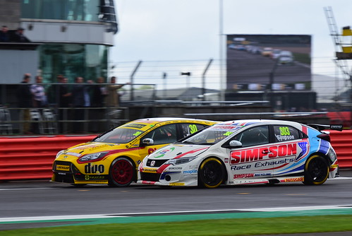 Matt Simpson, Honda Civic Type R, British Touring Car Championship, Silverstone 2017