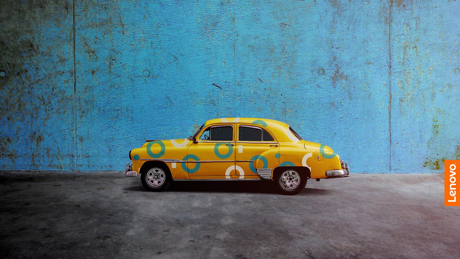 Car Wallpaper Lenovo Yellow Car Wallpaper