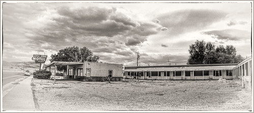 For Sale By Owner | Timeworn Motel Wells, Nevada. Lone ...