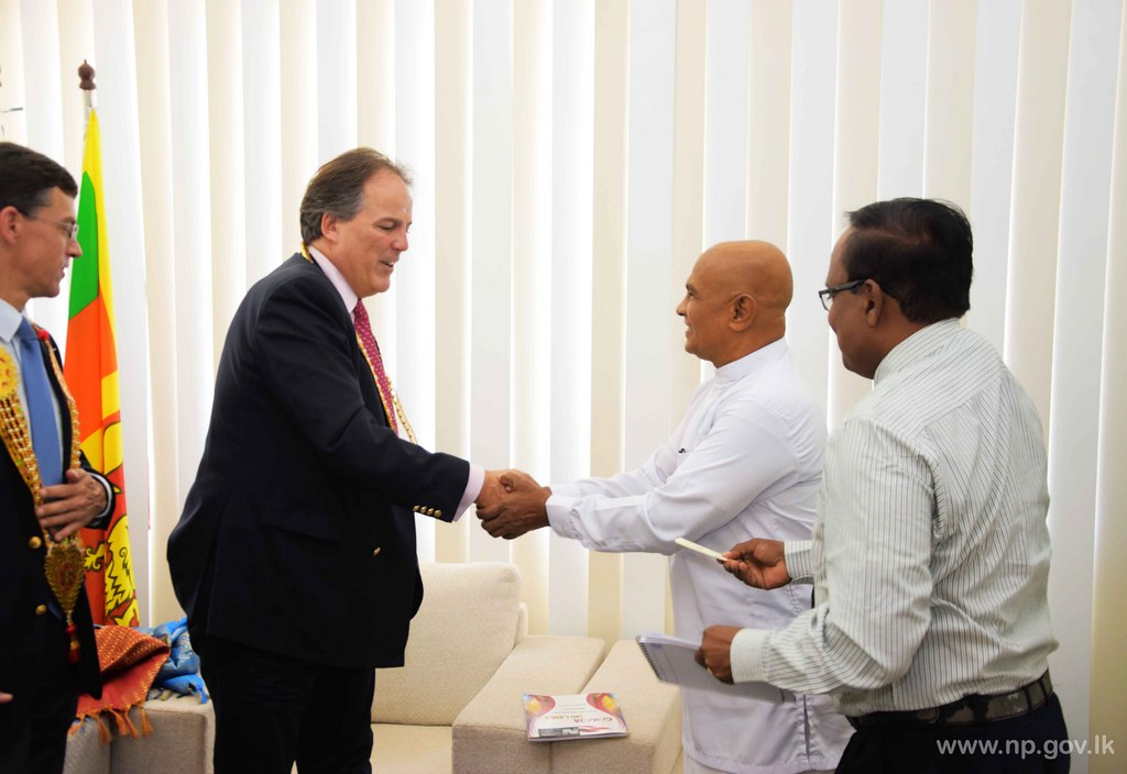UK Minister Mark Field calls on Governor