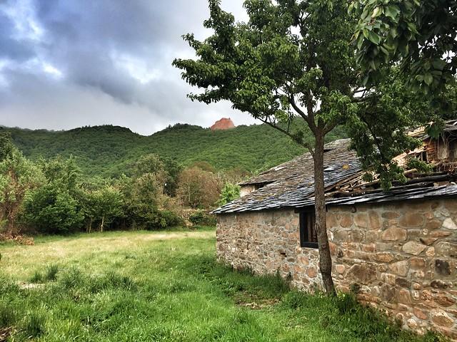 Pueblo de Las Médulas (El Bierzo)