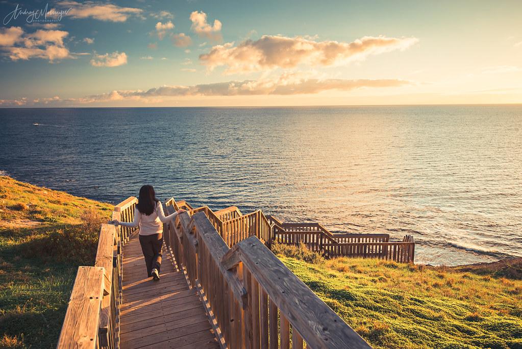 hallett cove boardwalk at sunset andrey moisseyev flickr. Black Bedroom Furniture Sets. Home Design Ideas