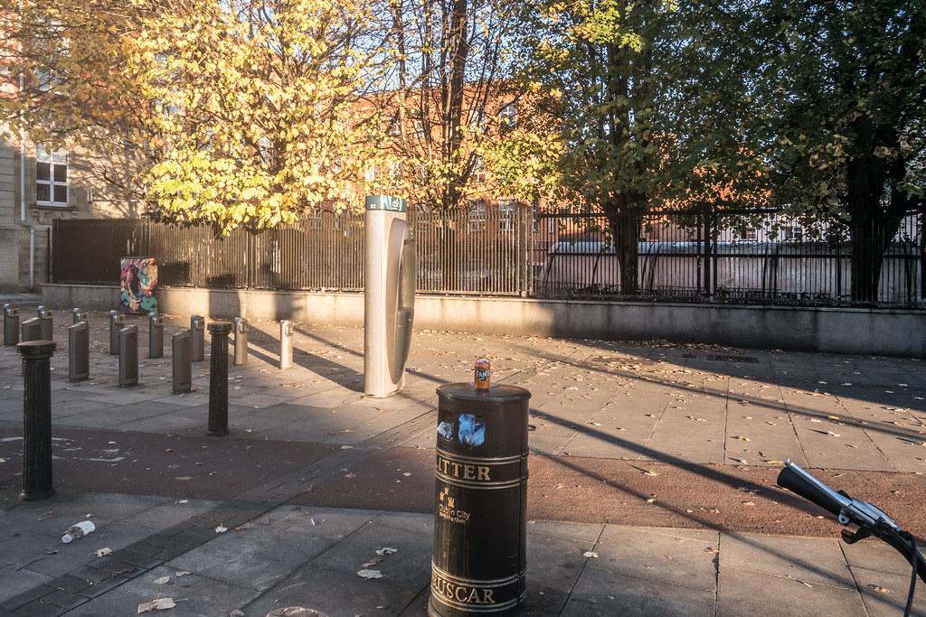 DUBLIN BIKE DOCKING STATION 03 ON BOLTON STREET 05