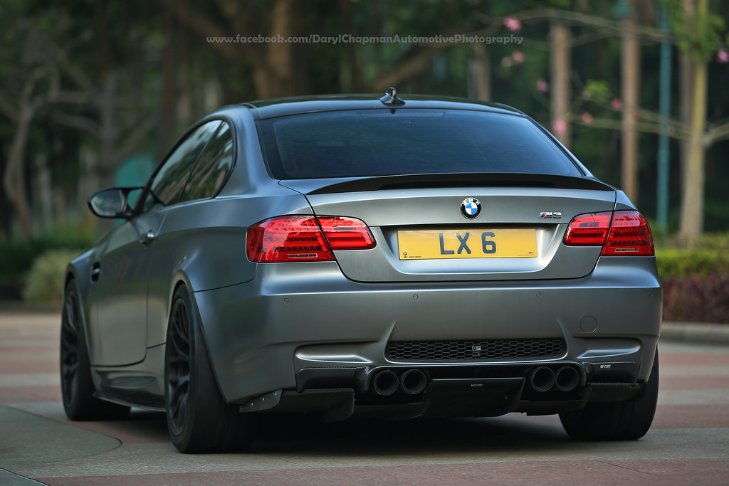 Bmw E92 M3 Hong Kong Back Shot For A Change Check Out M Flickr