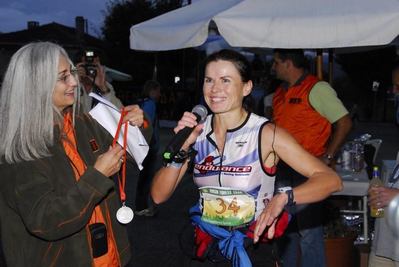 H Ιρένα Μαλιμπόρσκα μόλις έχει τερματίσει νικήτρια στο πρώτο VFT 2007!