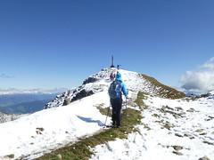 Zum Gipfel des  Kassianspitze