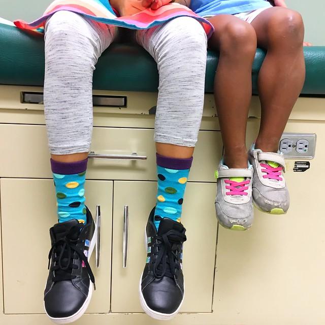 Blue And White Pitter Pattern #22 Men-Women Adult Ankle Socks Novelty Socks