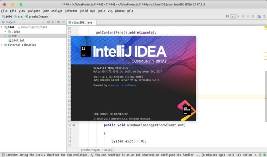 Intellij IDEA, instala este IDE para desarrollar con Java