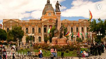 La Paz - Plaza principal