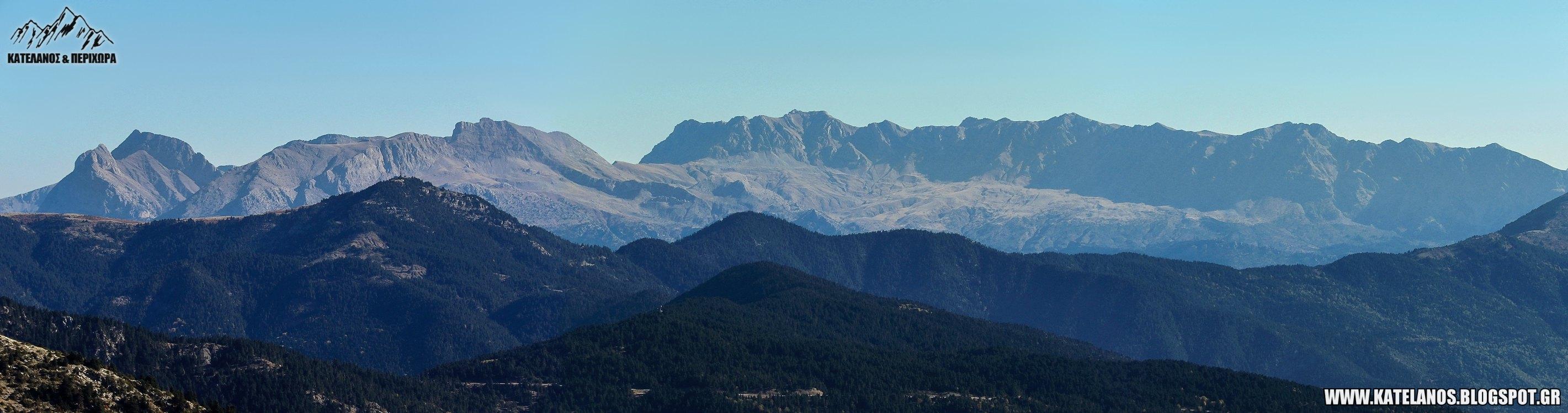 βαρδουσια ορη βουνα