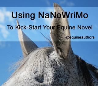 Using NaNoWriMo to Kick-Start Your Equine Novel @equineauthors