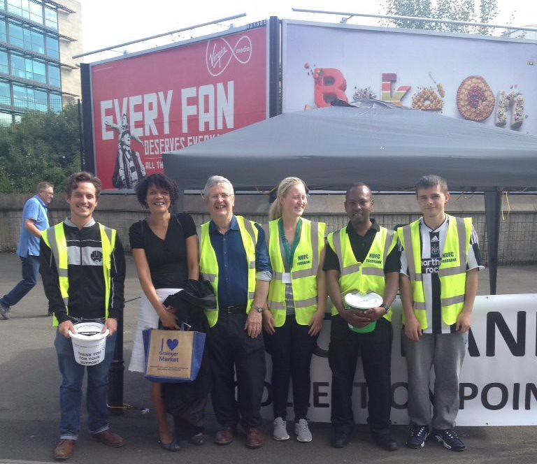 Newcastle Food Bank Collection On Match Days Chi Onwurah