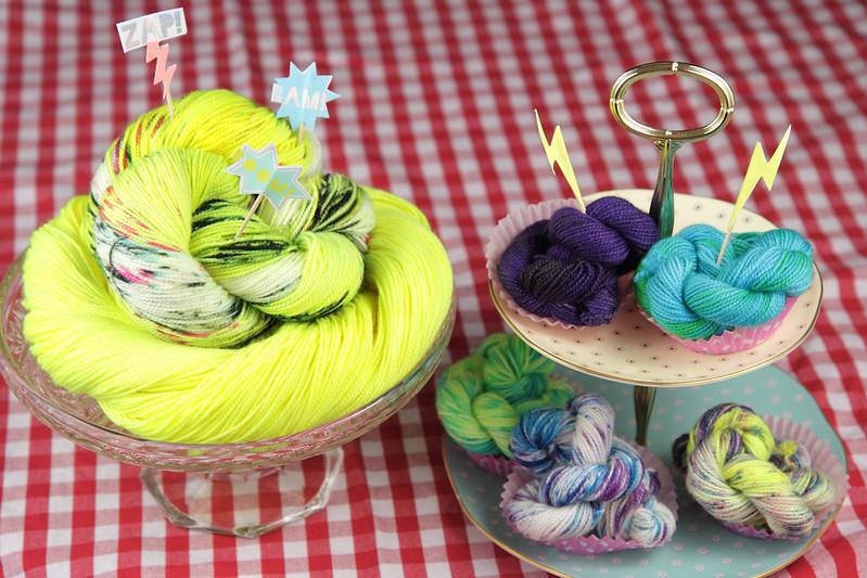 Neon yarn giveaway