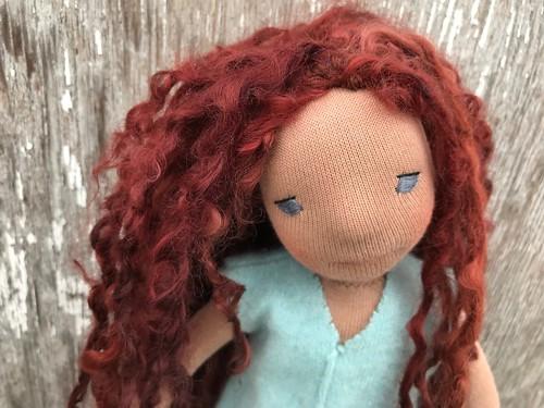 Harriet - 31cm Natural Fiber Art Doll