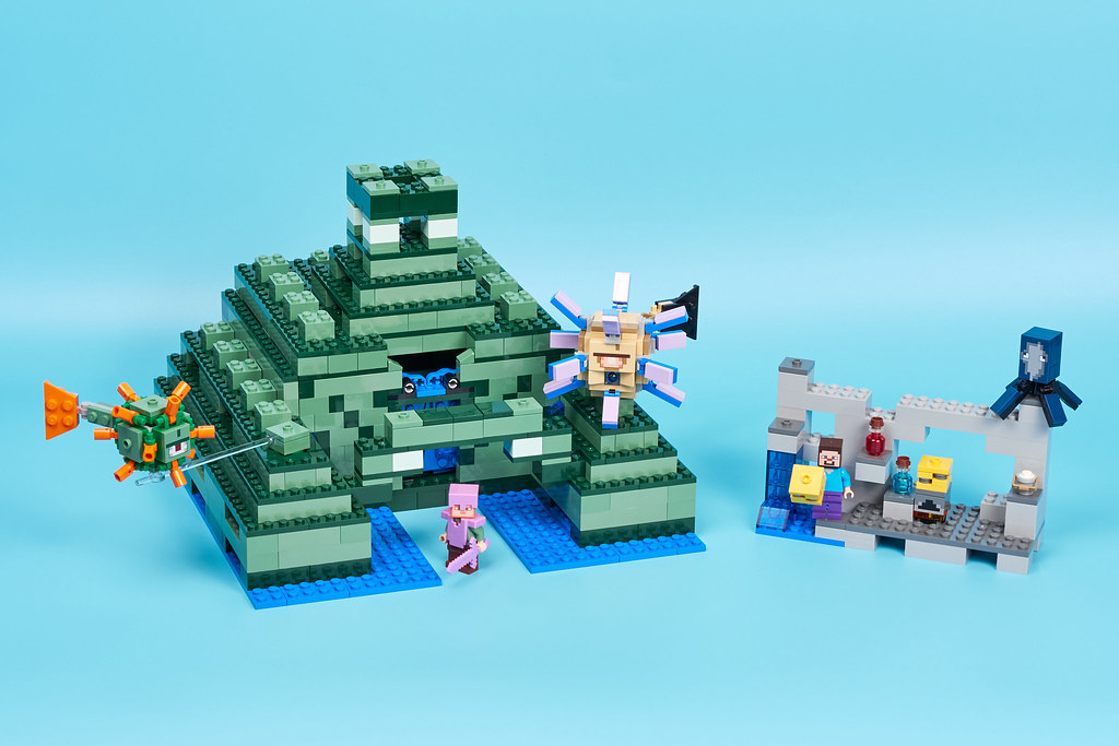 NEW LEGO Minecraft The Ocean Monument 21136