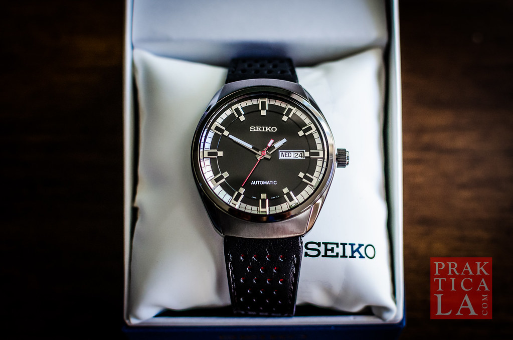 seiko recraft automatic watch snkn45 review