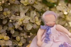 Persephone - 9.5 inches Waldorf doll by Down Under Waldorfs