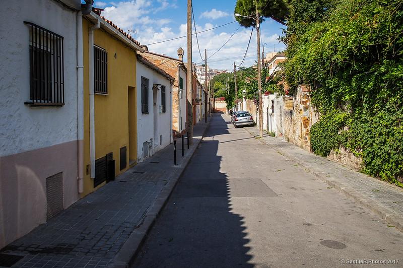 Carrer de Granolllers en el barrio de Horta