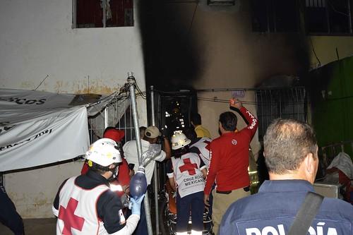 Muere persona en incendio en Barrancos