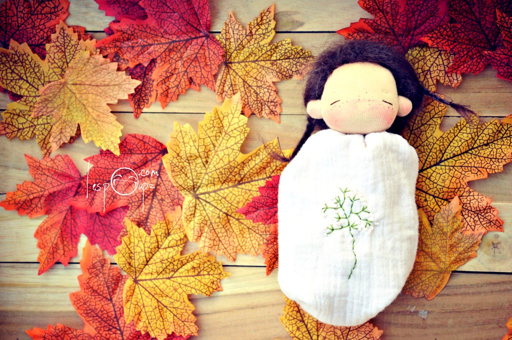 Pocket Doll by LespouPZ, dark-brown hair