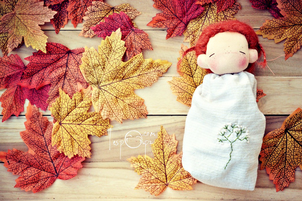 Pocket Doll by LespouPZ, red hair
