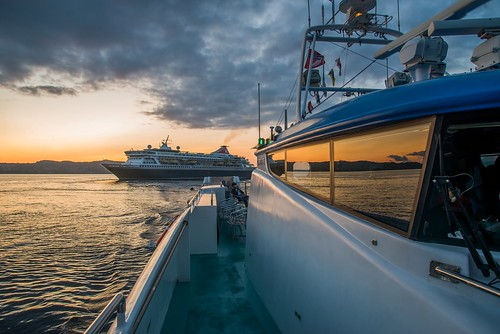 Fjord cruise to Mostraumen - The sunset | by Aviation & Maritime