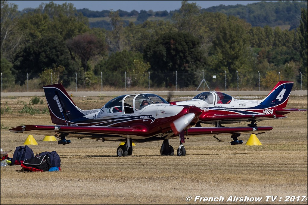 Pioneer Team , Pioneer 330 , Avignon Air Show 2017 , Aéroclub Vauclusien , avignonairshow2017 , Meeting Aerien 2017