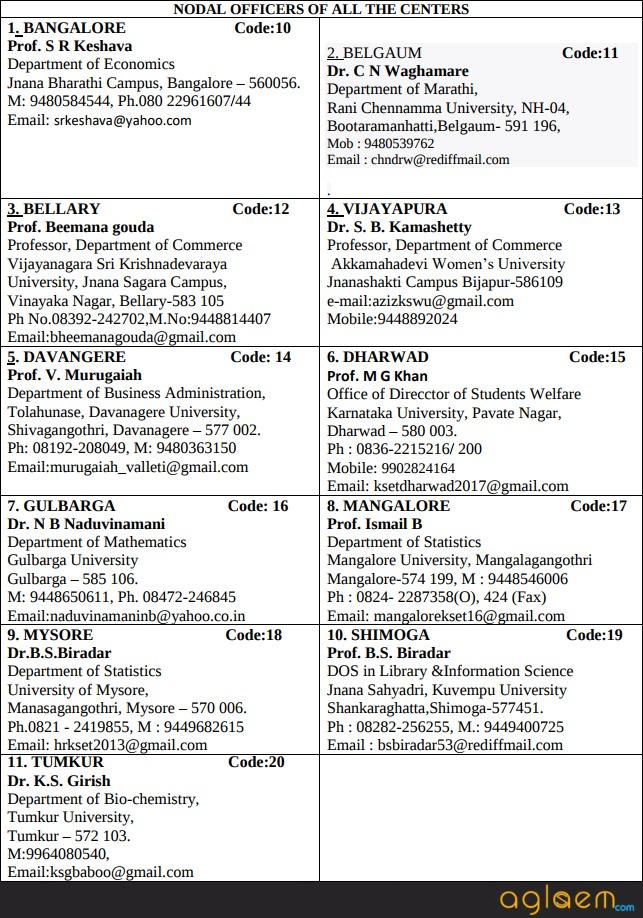 KSET 2017   Karnataka State Eligibility Test